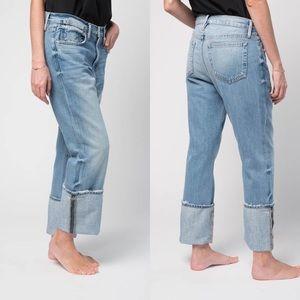 FRAME Denim ale Overaized Cuff Jeans